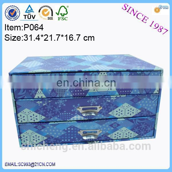 High quality OEM Drawers A4 Paper Storage Box