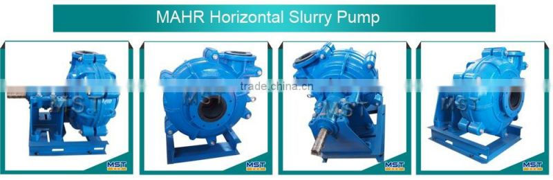 slurry pump with three phase induction motors