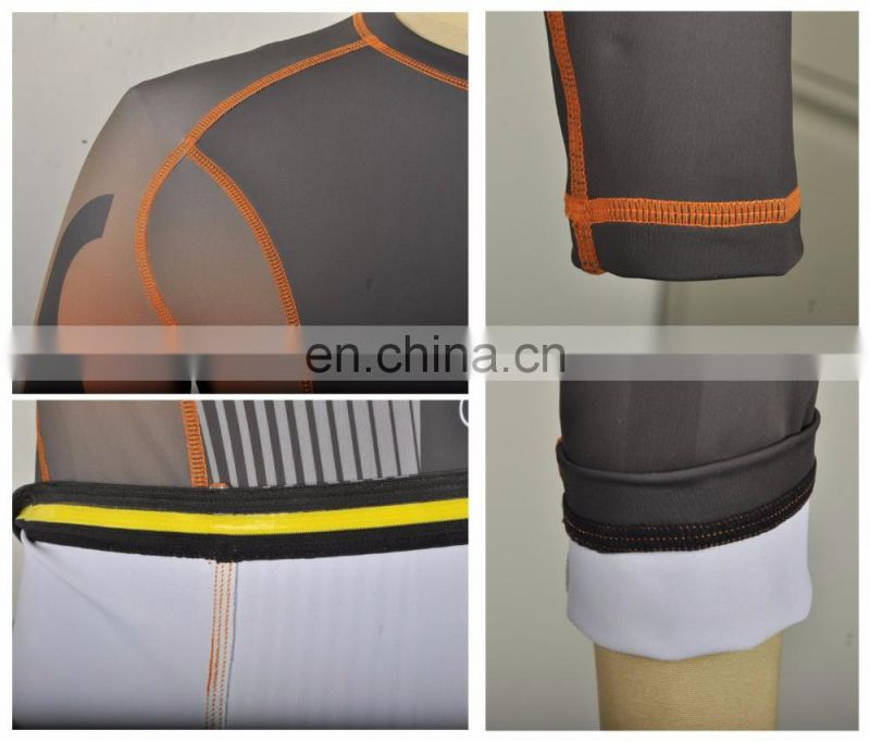 OEM custom made designed rashguard wholesale polyester/spandex bjj rashguards