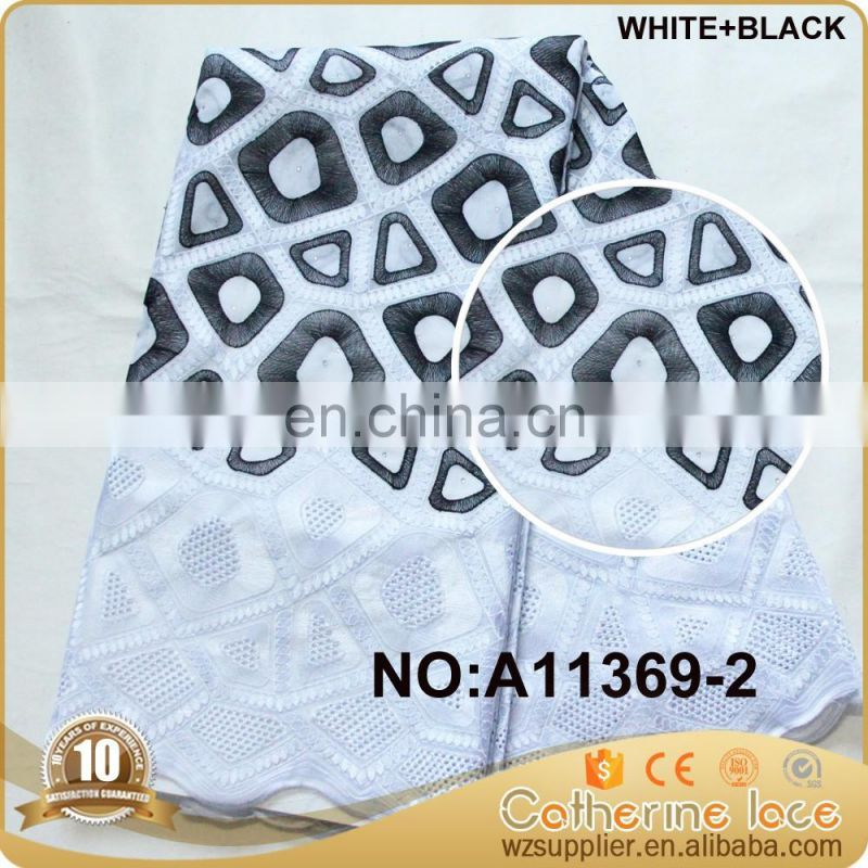 high quality heavy african swiss voile lace fabric nigerian voile lace
