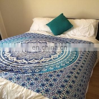 Mandala printed double size duvet cover SSTHMDC01