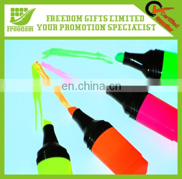 Most Popular Logo Printed Highlighter Marker Pen