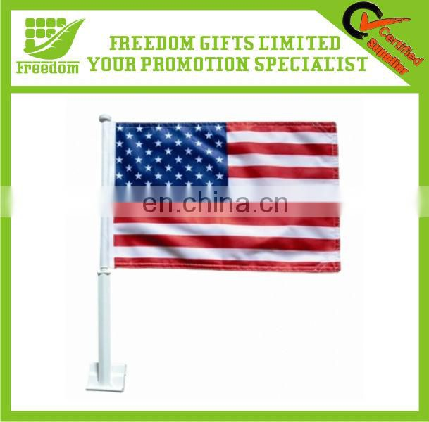 Top Quality Promotional Custom Window Car Flag