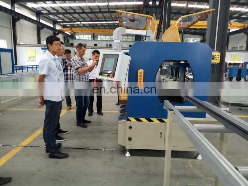 thermal barrier assembly machines for aluminium profiles and aluminium window and door