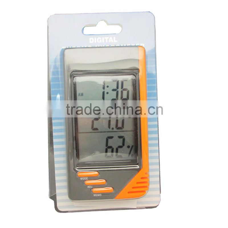 Digital Temperature & Humidity Meter Hygrometer / Thermometer with C/F switch