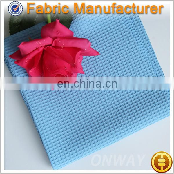 Onway Textile NEW ARRIVAL jacquard cloth fabric with fashionable printing design