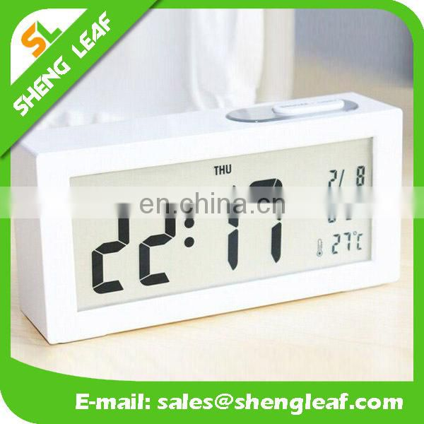 Creative fashion wall clock The clock alarm clock personality gift