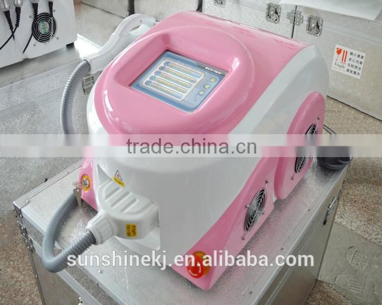 best portable e-light hair removal machine for salon use
