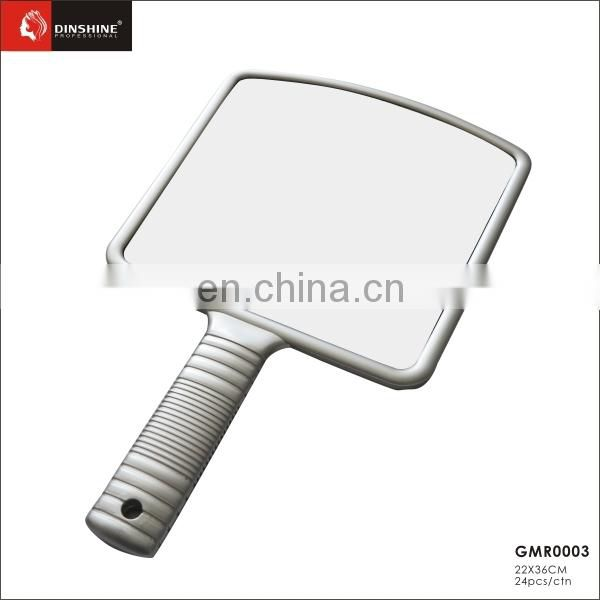 best price good quality silver framed hair cutting hand mirrors hair salon styling stations