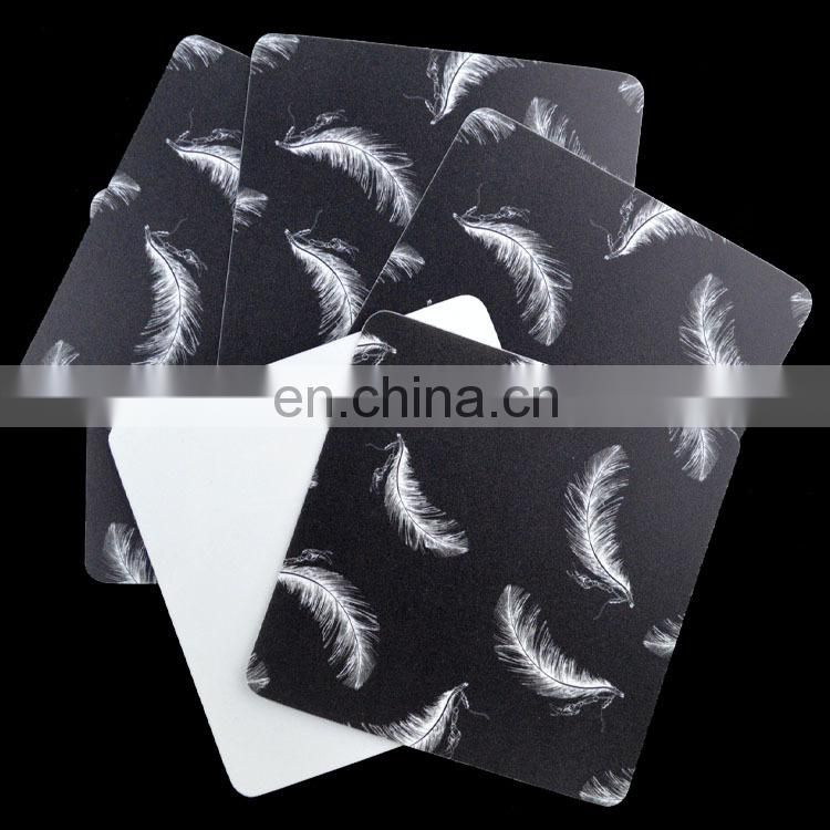 High quality fashionable printed pp plastic coaster