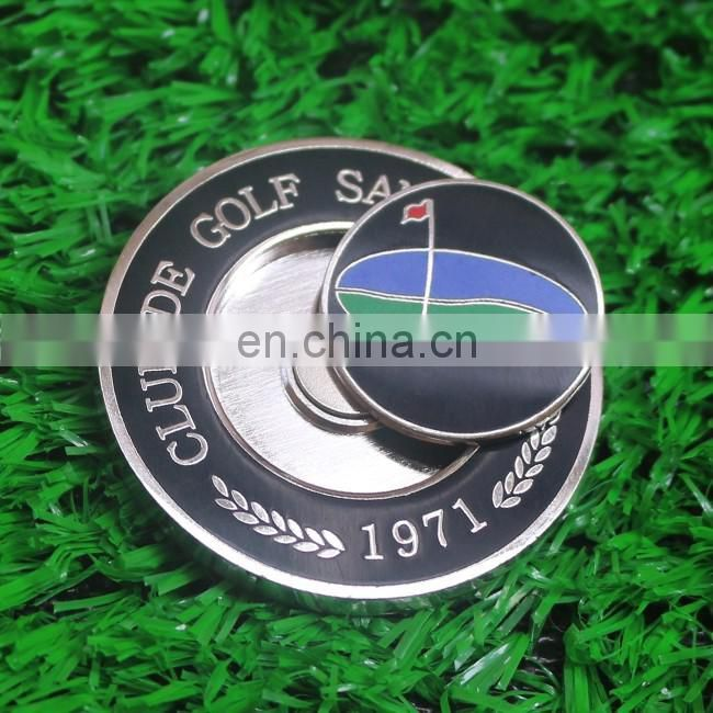 Golf Switch blade golf pitch fork with custom markers / Golf pitch repair tools