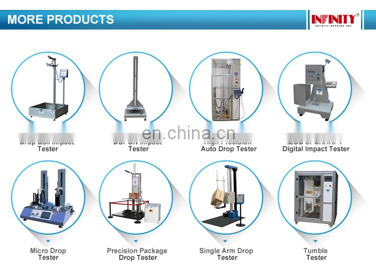 Rolling Drop Fall Free Tumbling Barrel Universal Testing Machine for Electronic Product Phone