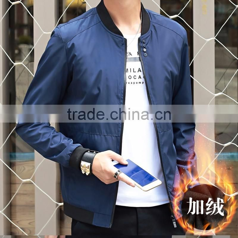 2016 new style customized manufactorying thicker winter autumn spring baseball jackets for men