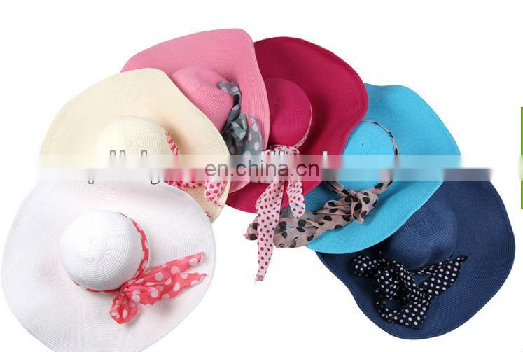 soft chiffon hat ribbon