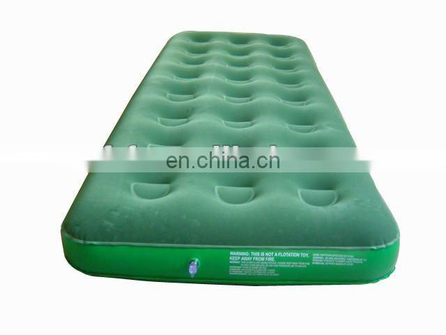 single inflatable Honeycomb vertical post air bed