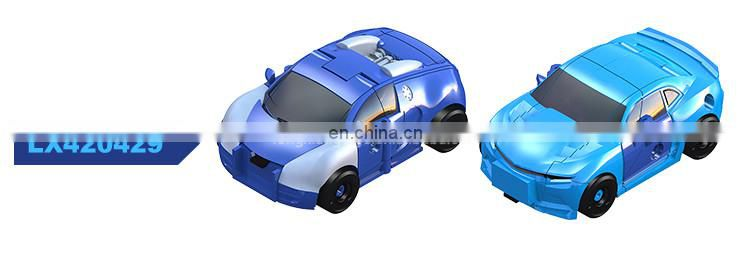 NEW style Deformation red ABS car toy for kids
