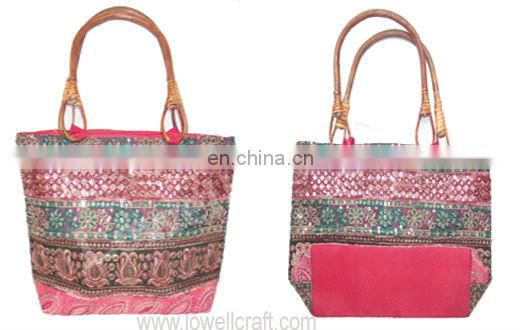 designer ethnic hand bag