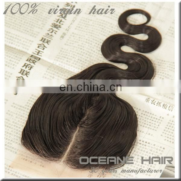Hot selling most popular high quality can be dyed charming sample supported wholesale u part lace closure