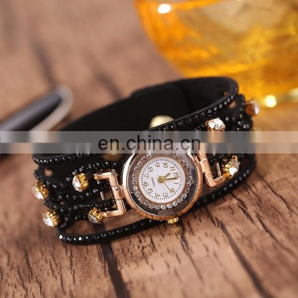 New arrival rhinestone wrist watch hand watch for girl