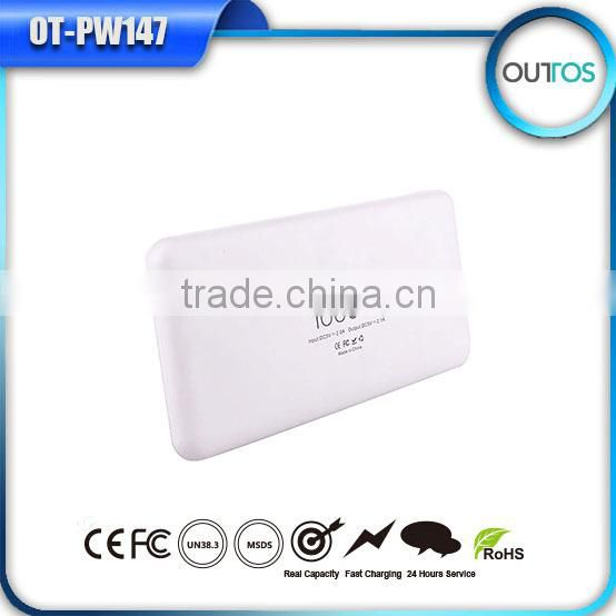 High quality portable power bank 10000mah for gionee