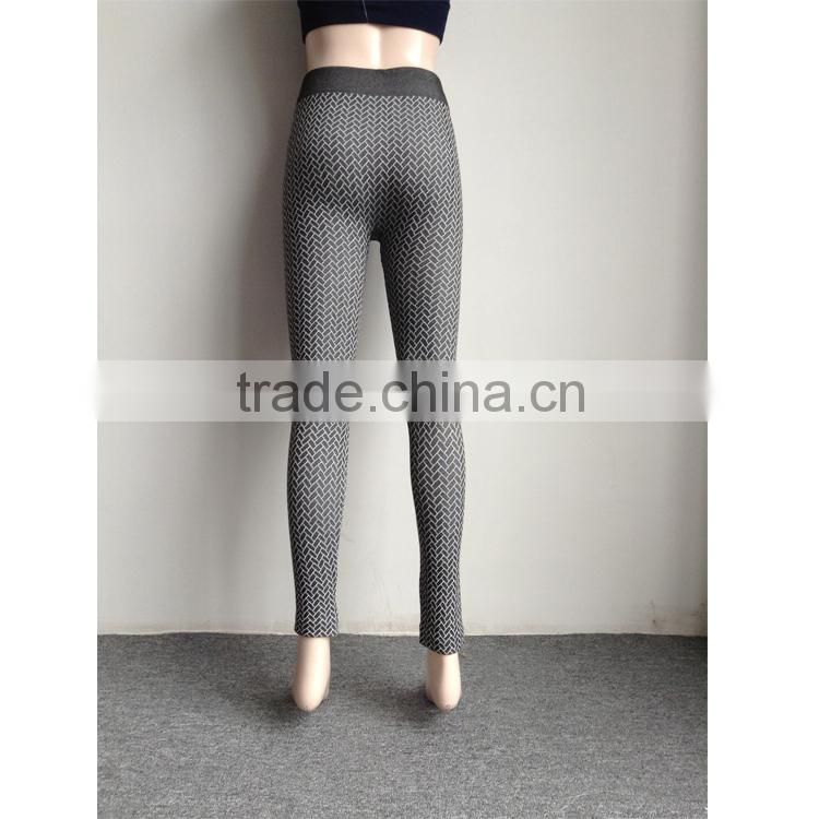 100% Cotton Latest Leggings Top Girls Waist-high Female Leggings Fur Knitted Waist Comfortable Women Seamless Sports Leggings