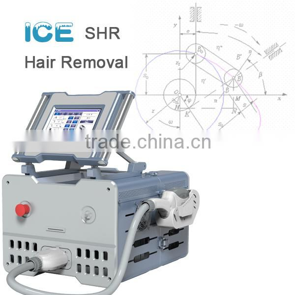 ICE1- professional IPL SHR laser hair loss device with Fast speed