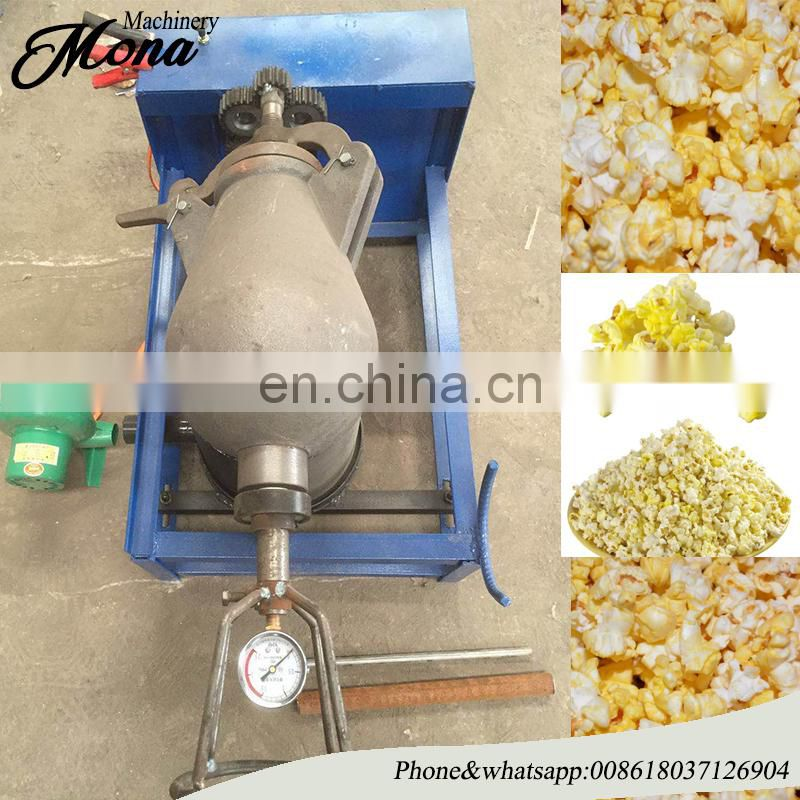 old style flavored popcorn machine with CE