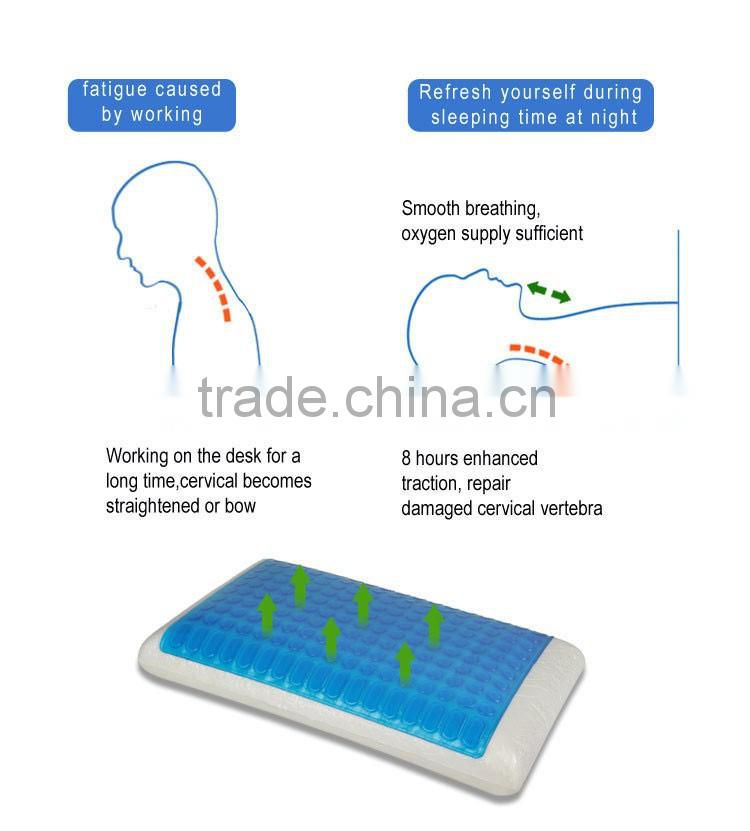Guangzhou gel memory foam pillow