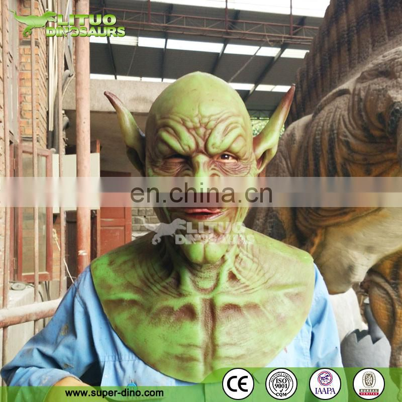 T-rex Dinosaur Mask Costume Cosplay Halloween Party Replica
