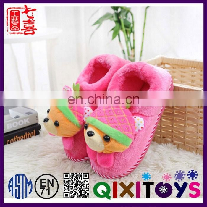 High quality super soft plush slippers cheap wholesale shoe supplies factory direct