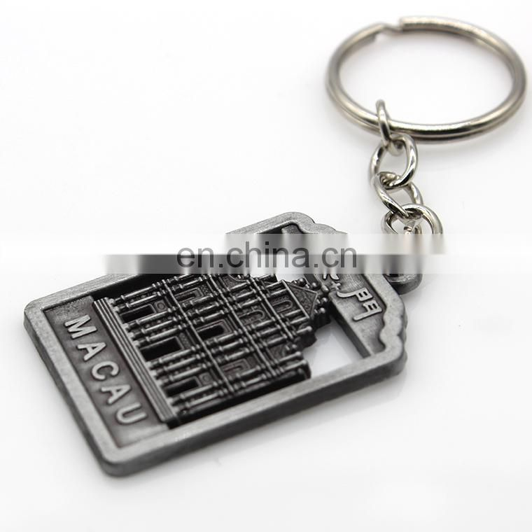 Wholesale Zinc Alloy Metal Custom key chain for sale