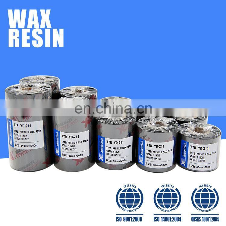 Wax /resin ribbon 80mm*300m--- 1 Inch core