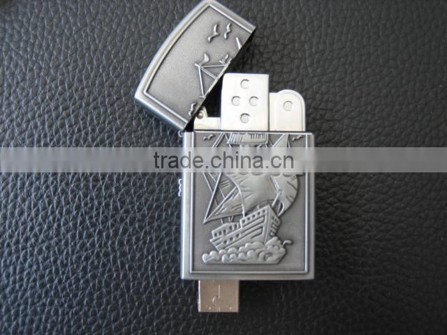 Real lighter with usb flash drive function, cigarette lighter usb flash drive, Camel lighter usb pen drive