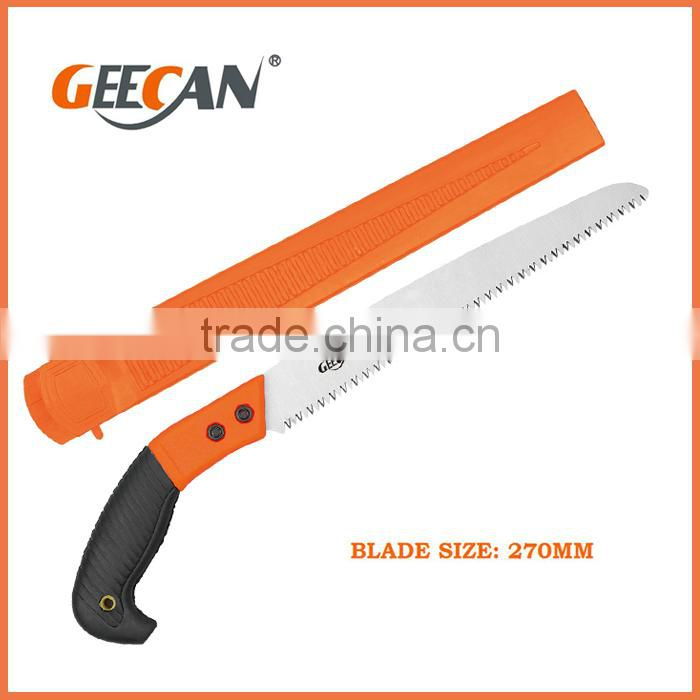 Plastic handle tree pruning saw