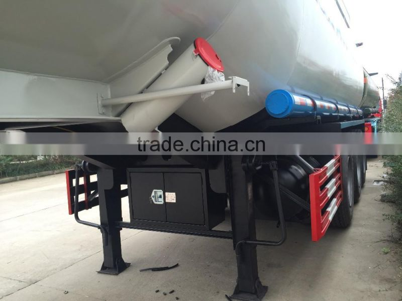 High Quality 3 Axles Oil Road Tanker Trailer for sale