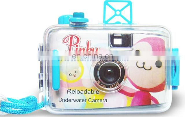 AP002 Pinky Monkey Reloadable Underwater Film Camera-Flower Girl Wholesale Disposable Camera