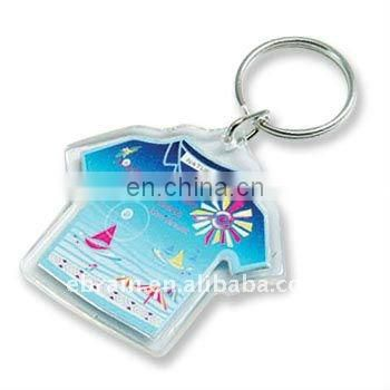 Promotional Cheap Personalized Frame Plastic Keychain