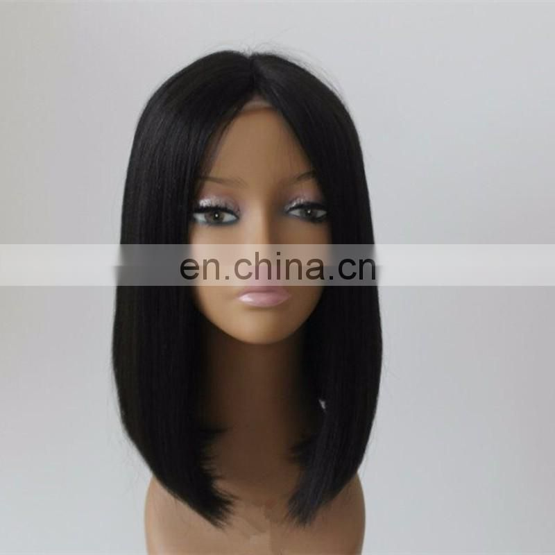 Fashion No Shedding, No Tangle Silky Straight high quality european wigs cheap Full Lace Wig with baby hair For White Women