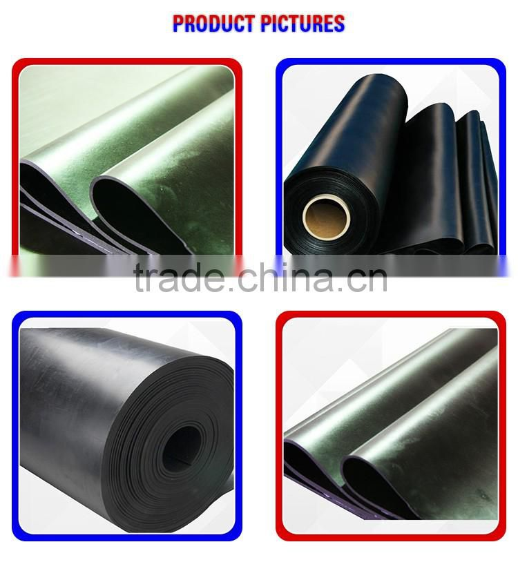wholesale customized fire resistant SBR rubber sheet foam