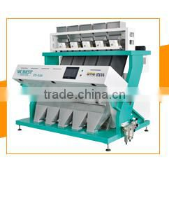 Big output optical CCD color sorter machine for PP PET PVC ABS plastic