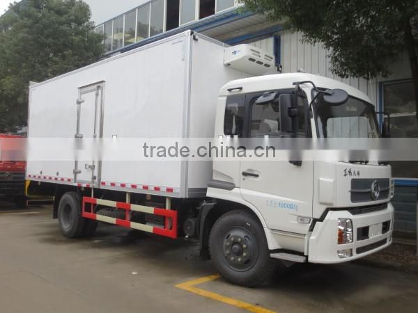 190hp New Design DONGFENG 4*2 Refrigerated cargo truck 15 ton
