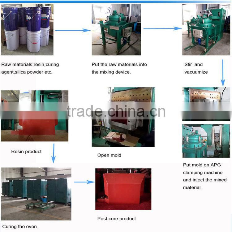 Good price with high quality resin mixing machine for insulators