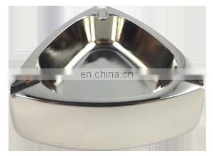 round brass high quality metal ashtray custom
