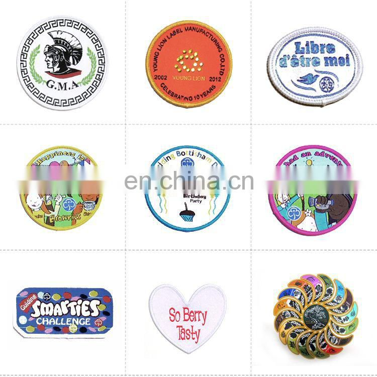 wholesale custom embroidered patch badges