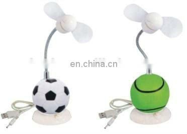 USB Mini Fan with Ball Design