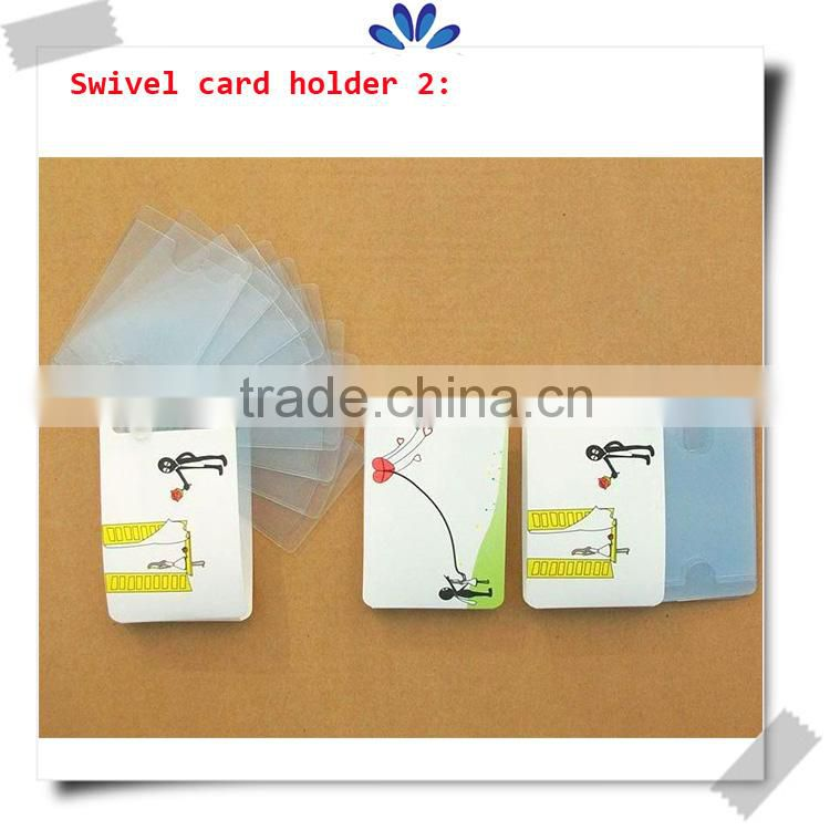 Popular personalized playing card holder,4 colors printing plastic card holder,foam inside material card holder