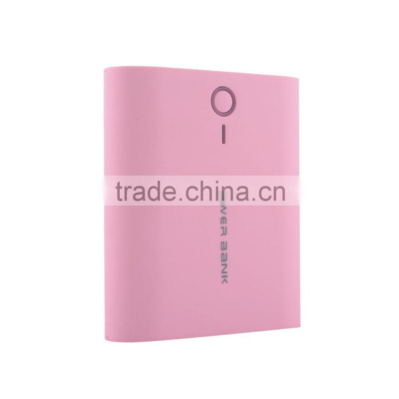 High quality 10400mah power bank with led charge indicator