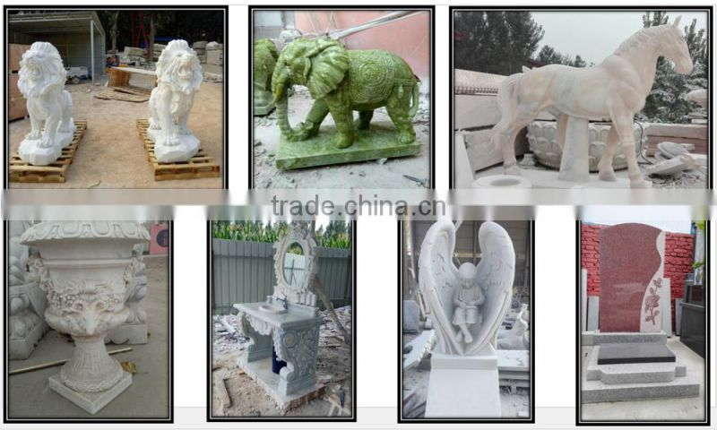 Europen carved ladys white marble gazebo for decoration NTGM-005LI