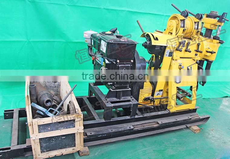 Hydraulic water well driller machine HW160 bore well core drilling machine price