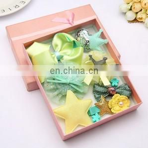Luxe Baby Hair Clips Set Bows Barrette For Baby Girl Pastel Baby Hair Clips For Baby Girl Gift
